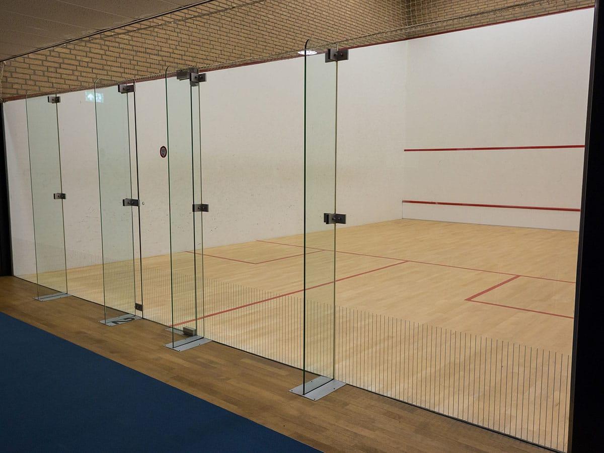 Squashbaan - De Tweesprong voor tennis & squash